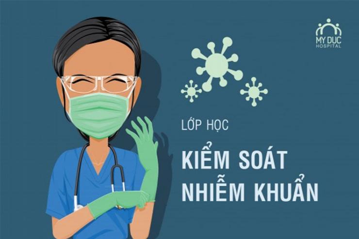 Lớp học Kiểm soát nhiễm khuẩn